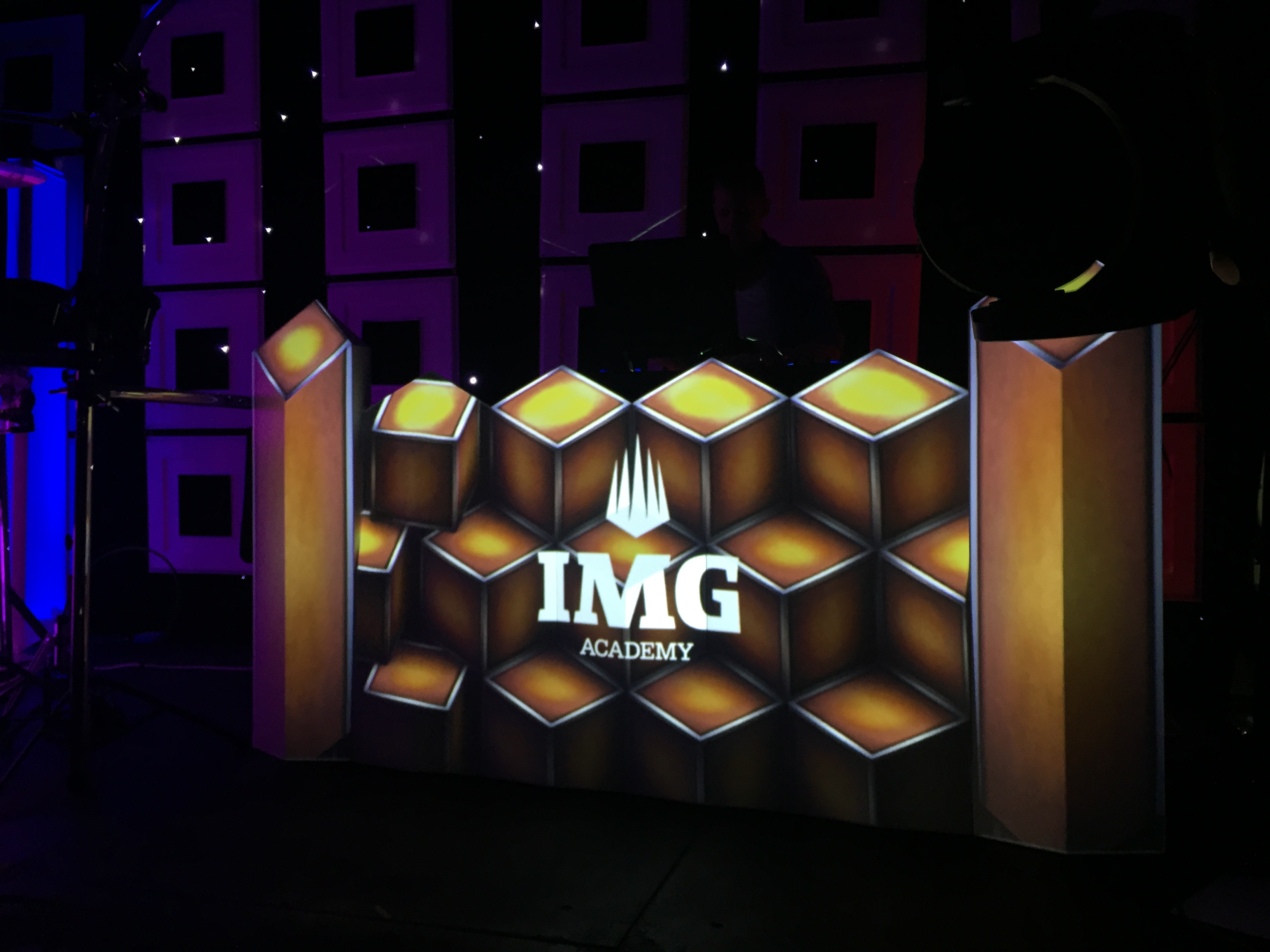 3D DJ Booth At IMG Academy